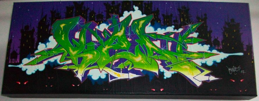 Copenhagen graffiti canvas  e8832afe872d4
