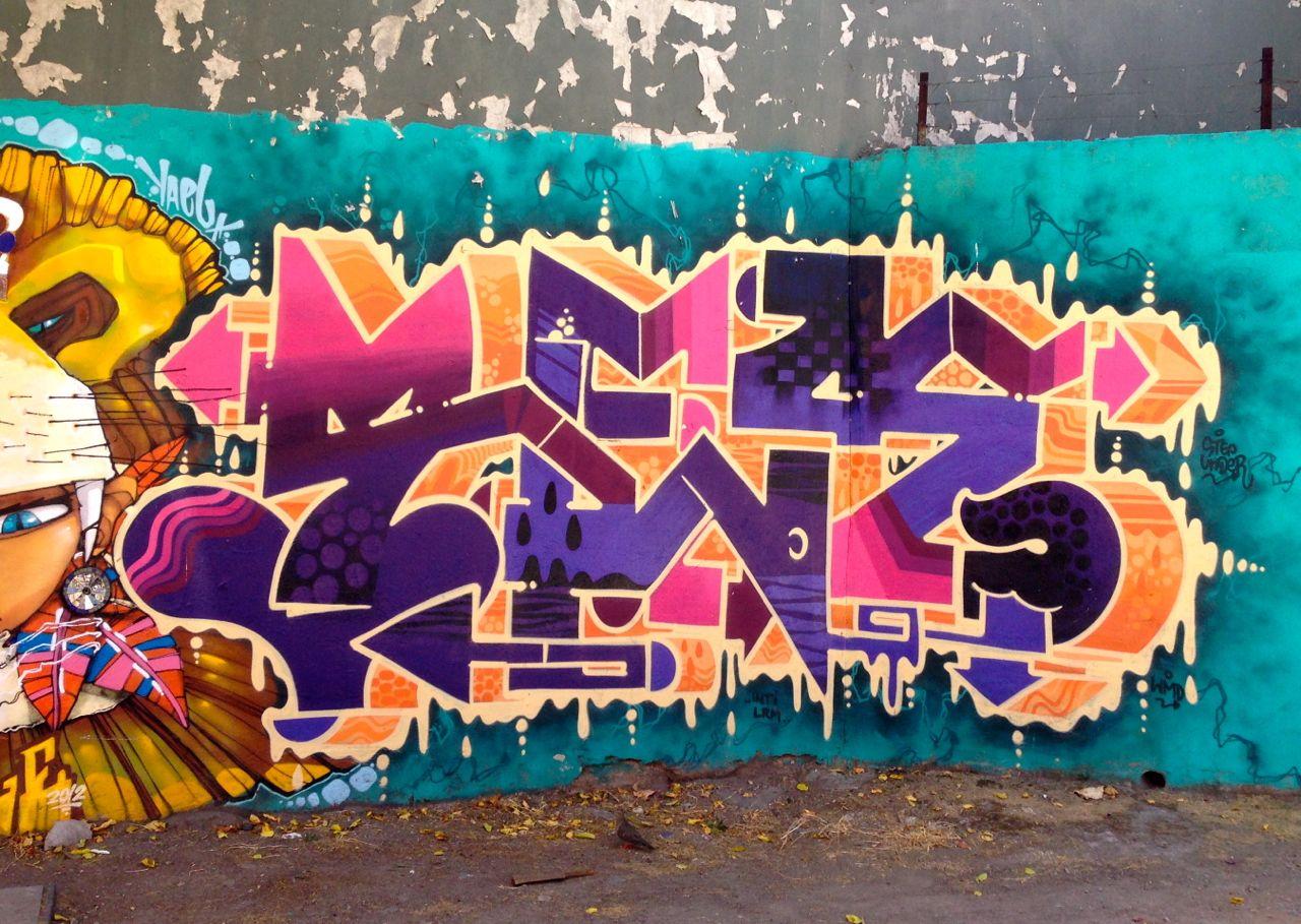 Graffiti From Santiago Chile Lars