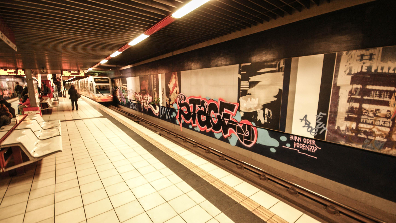 k ln kvb stationen linie 3 und 4 i love graffiti de. Black Bedroom Furniture Sets. Home Design Ideas
