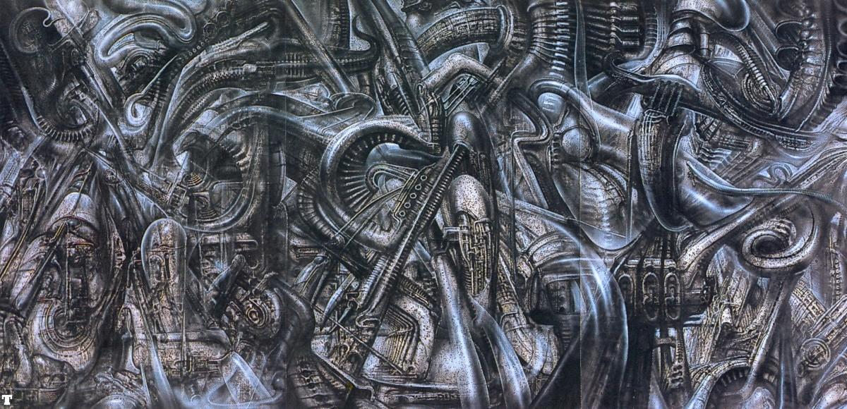 Giger on Pinterest   Hr Giger, Aliens and Google Search H.r. Giger Wallpaper