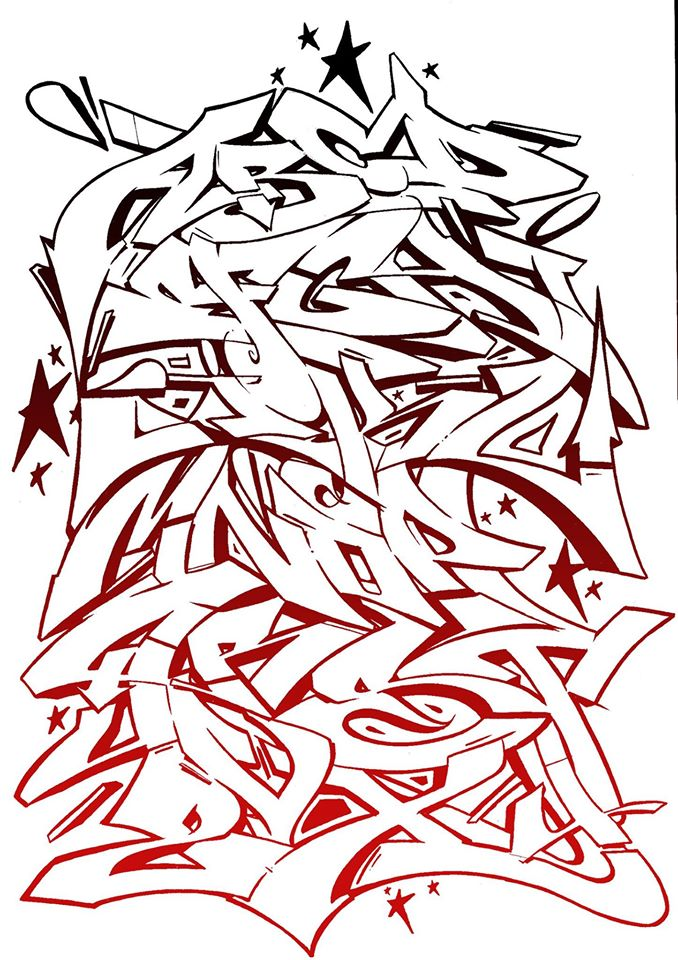 Stylewriting Serval Abc I Love Graffiti De