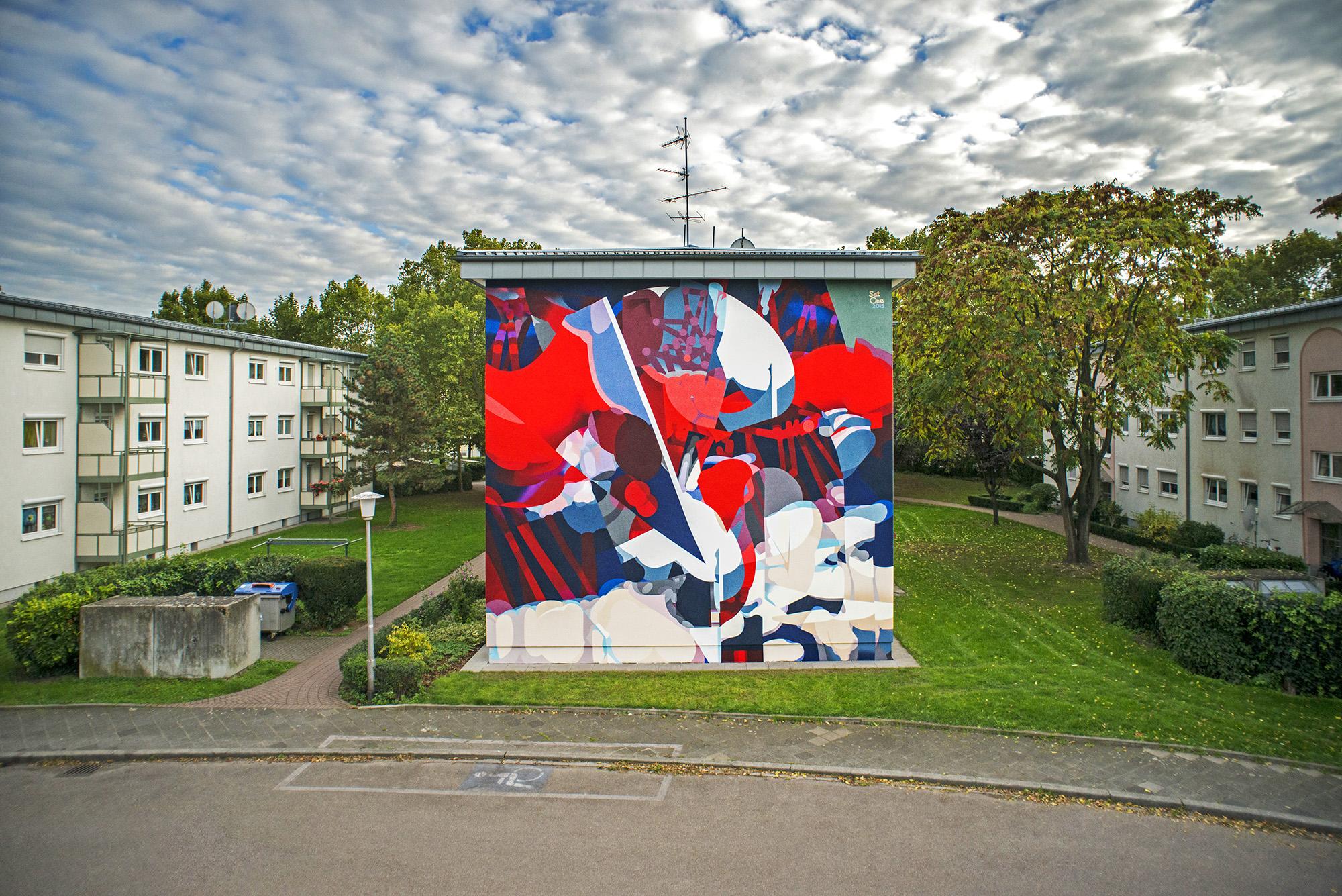 MURAL ART – Stadt.Wand.Kunst Mannheim – SATONE | I Love Graffiti DE