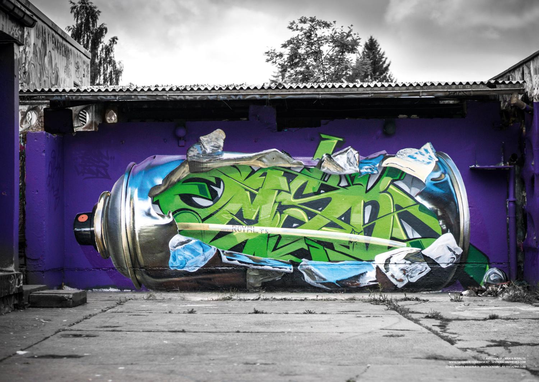 Teen graffiti magazine