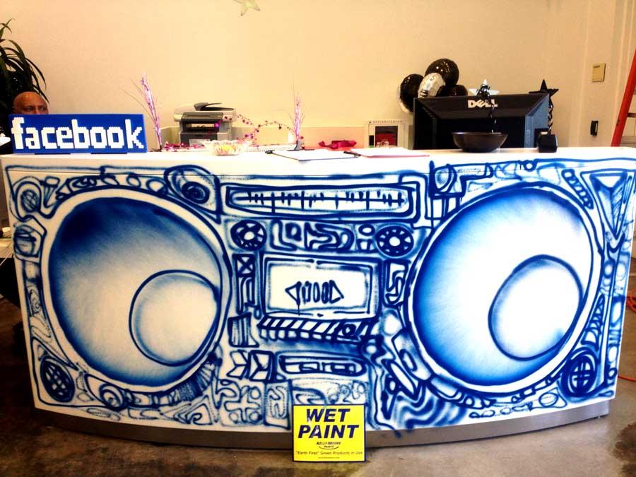 Facebook macht graffiti k nstler zum multimillion r i love graffiti de for Porte zen fiber