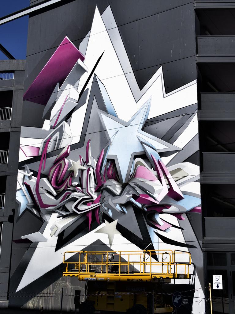DAIM – Corner to Corner Mural in Bologna | I Love Graffiti DE