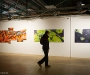 HALLENKUNST Urban Art Ausstellung am 10.12.2010 in der Markthalle in Chemnitz. Photo: Marco Prosch