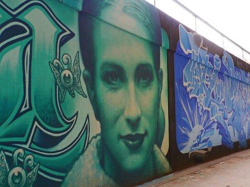 Street art m nchen i love graffiti de - Graffiti zimmerwand ...
