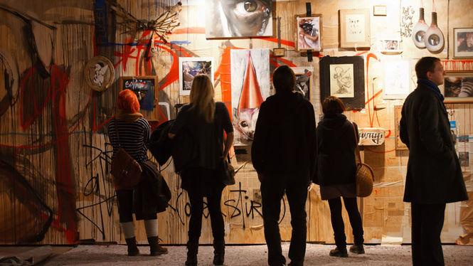 HALLENKUNST vom 16. bis 18.12.2011 in Chemnitz. Foto: Marco Prosch