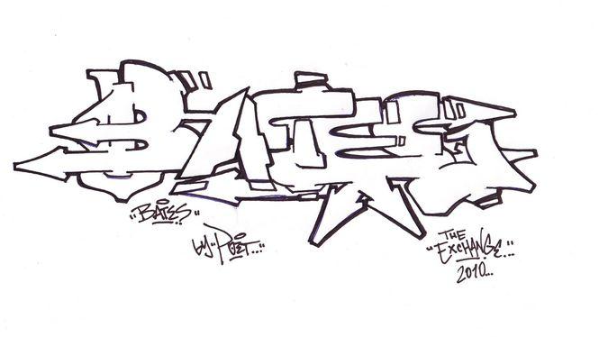 Bates Sketch von Poet