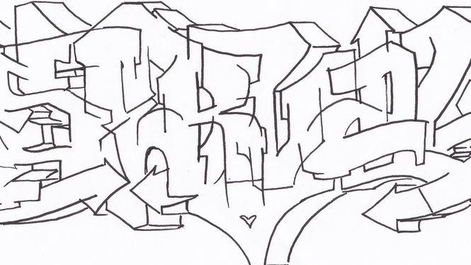 Serval Sketch von Scotty76
