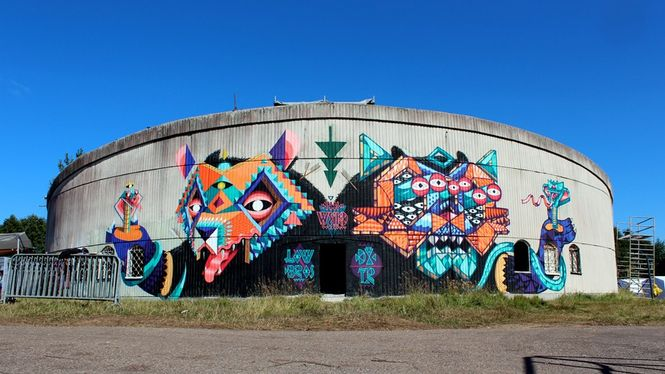 Beasts in the East / Low Bros & DXTR / Šventoji/Lithuania.