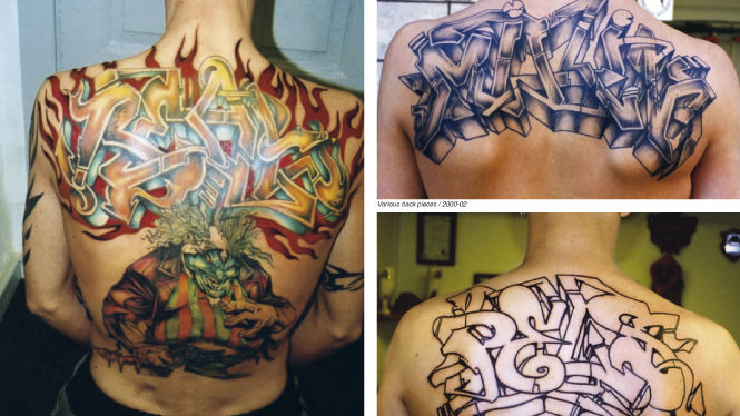 OTR BOOK #7 GRAFFITI TATTOO - Kings on skin